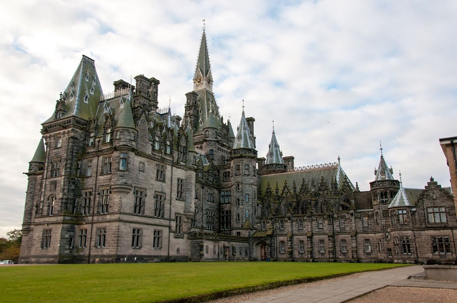 Fettes College view