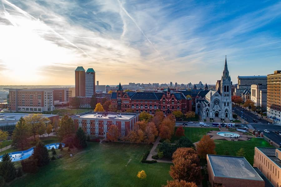 Saint Louis University view